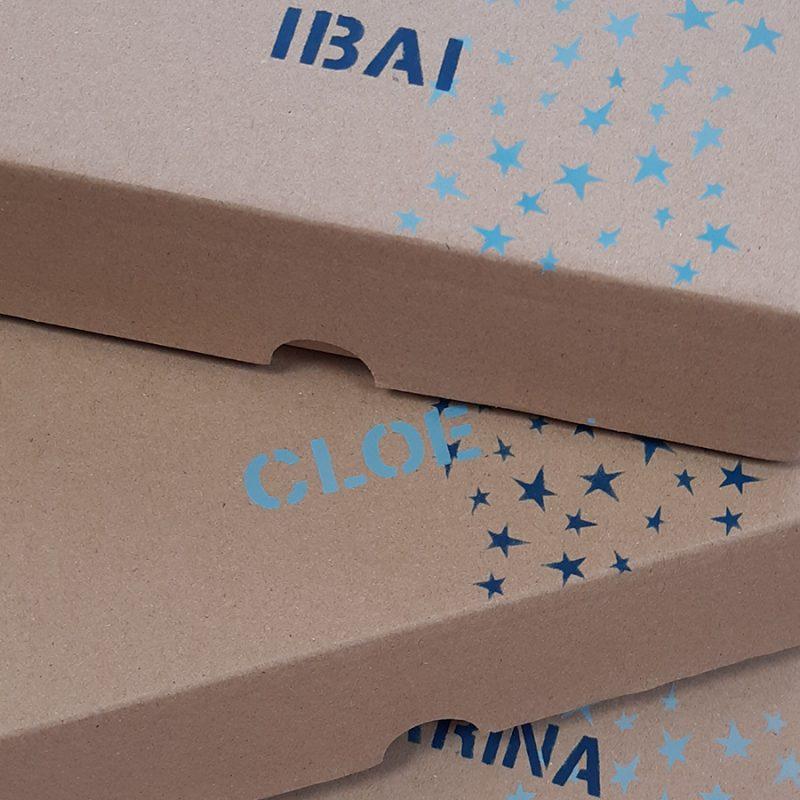 Caja personalizada, Jugando con Nuria