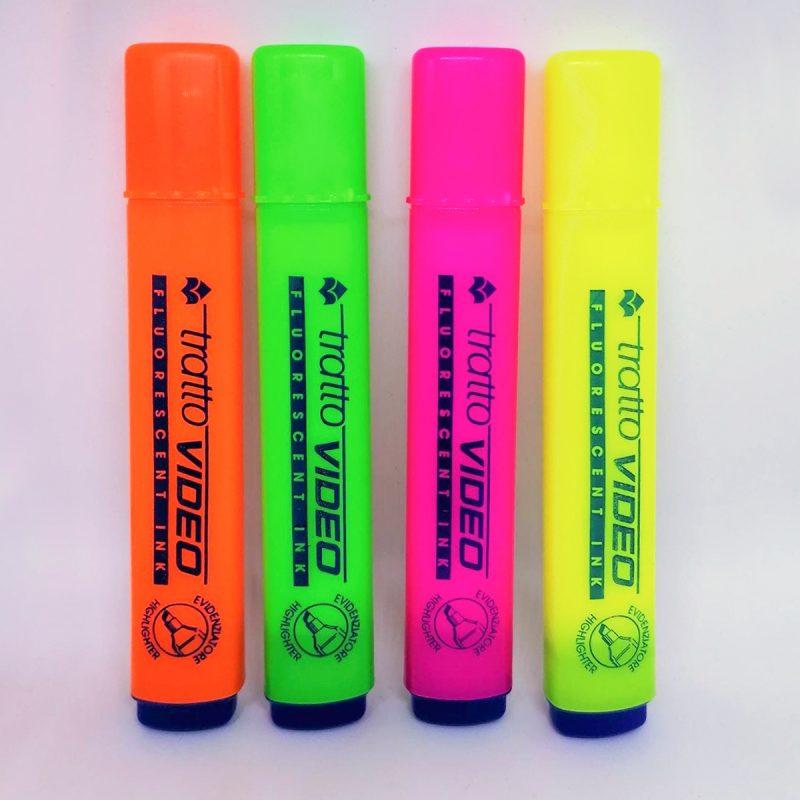 Rotuladores fluorescentes